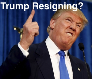 Image result for trump resigning
