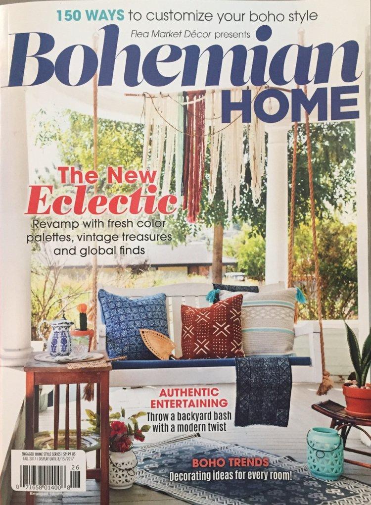 Bohemian Home Magazine Ashley Redmond Interiors