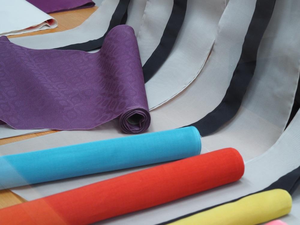Layering of kimono colours