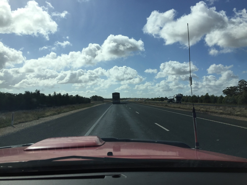 Heading toward Forbes NSW