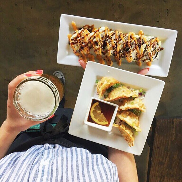 Is it Hapi hour yet ? 🍺🍣 #Fridays #needadrink #happyhourready