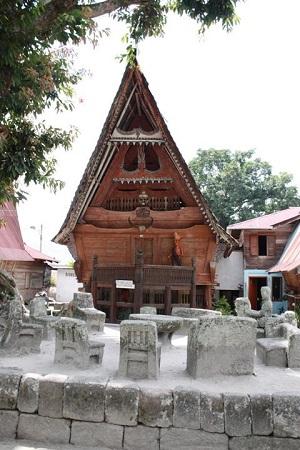 Traditionelles Batakhaus