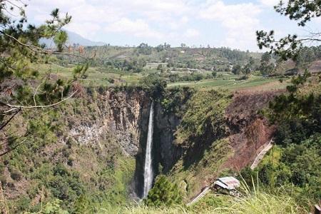 Sipisopiso Wasserfall