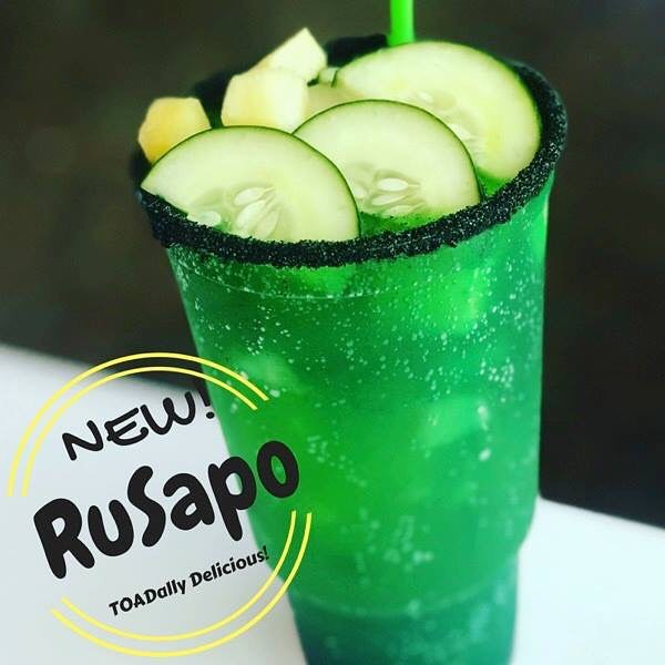 RuSapo...the Rusa re-invented! - The traditional Rusa from Mexico is prepared with grapefruit soda pineapple, orange, watermelon,