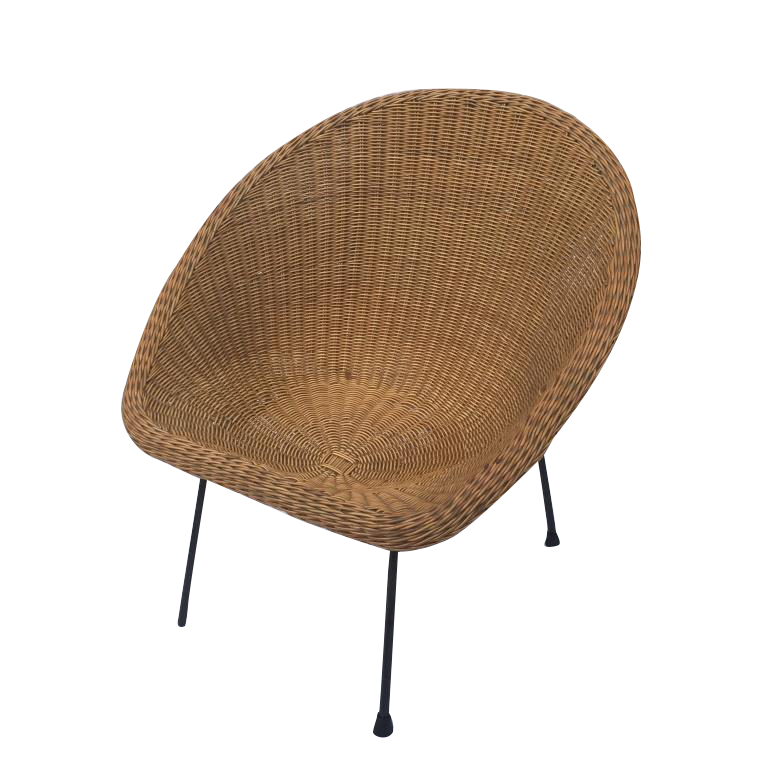 Cane Circle Chair