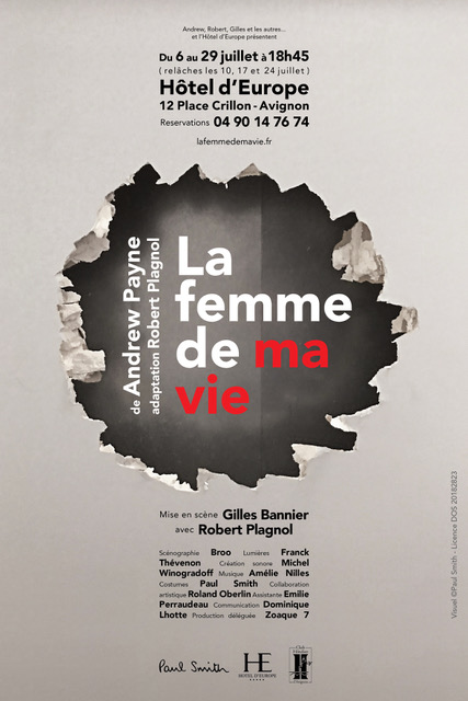 affiche signée Paul Smith
