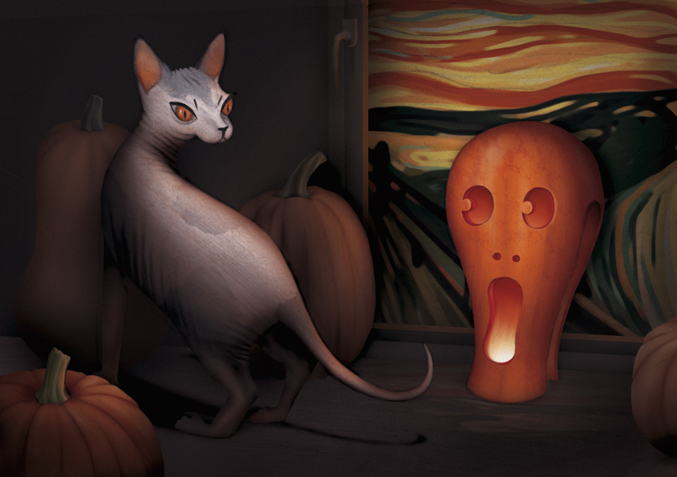 Skrybchenko_The_Scream_Pumpkin.jpg