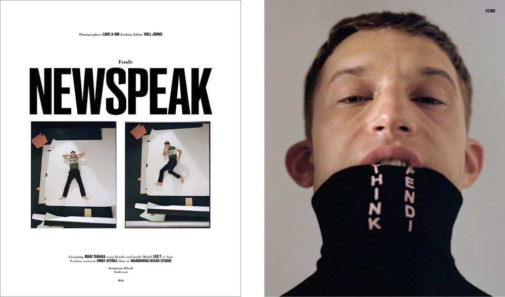 NEWSPEAK - 10 MEN - ISSUE 46 - AW17