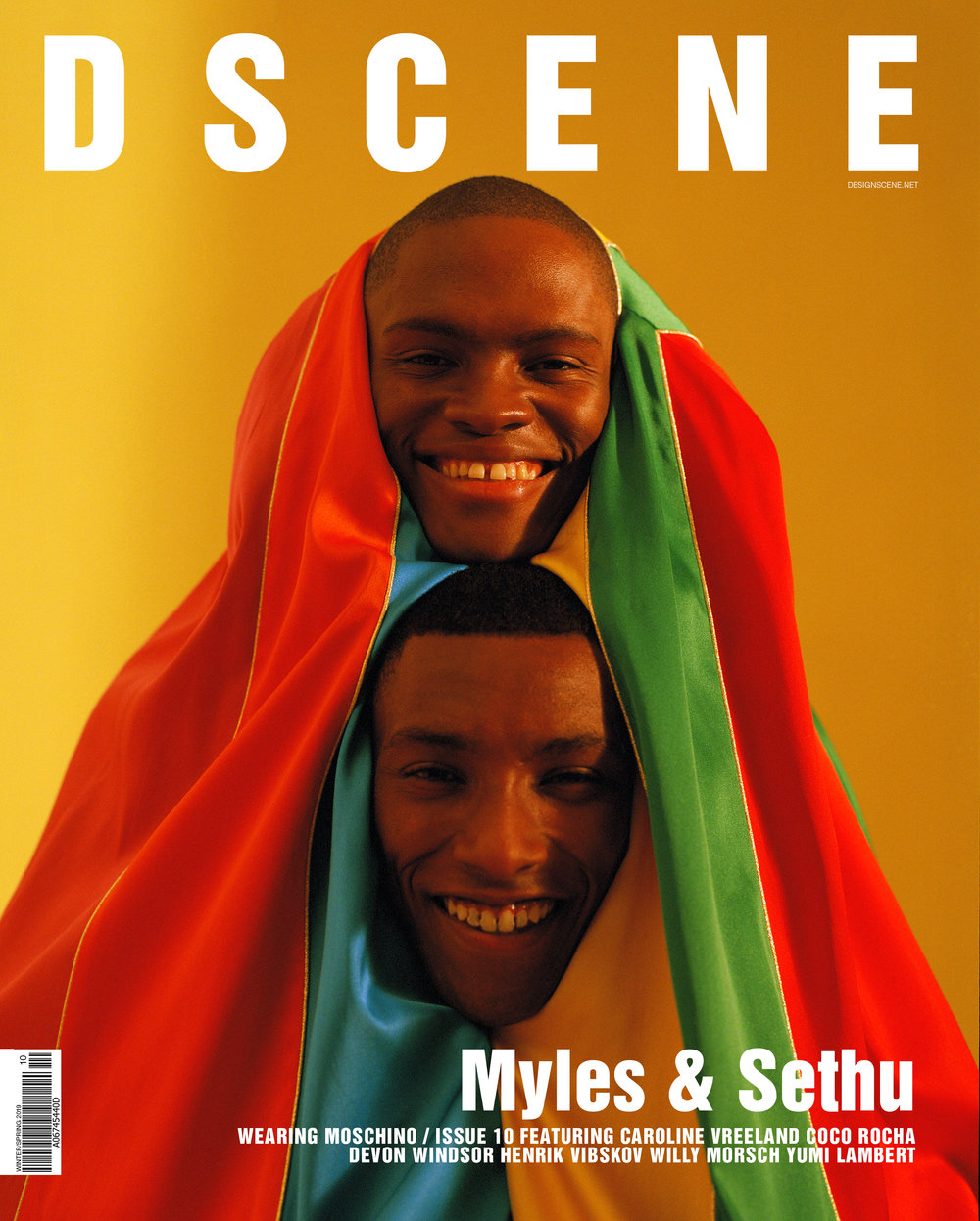 D'SCENE - ISSUE 10 - SS19 - LONDON, DECEMBER 2018