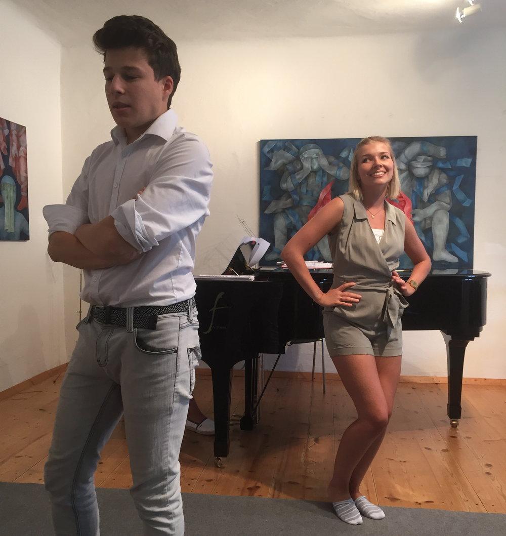 Joshua Edelsbacher & Annabella Zetsch