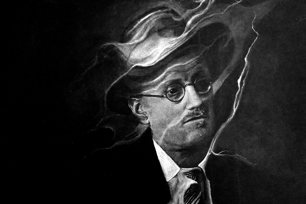 Portrait of James Joyce by Josh Steele