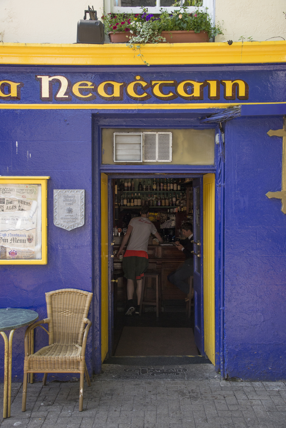 Side Entrance to Tigh Neachtain's, Dick Martin's original town house