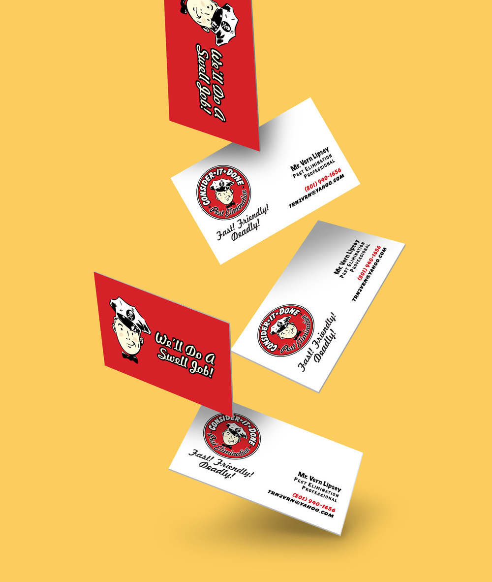 CONSIDER-IT-DONE - BUSINESS CARD