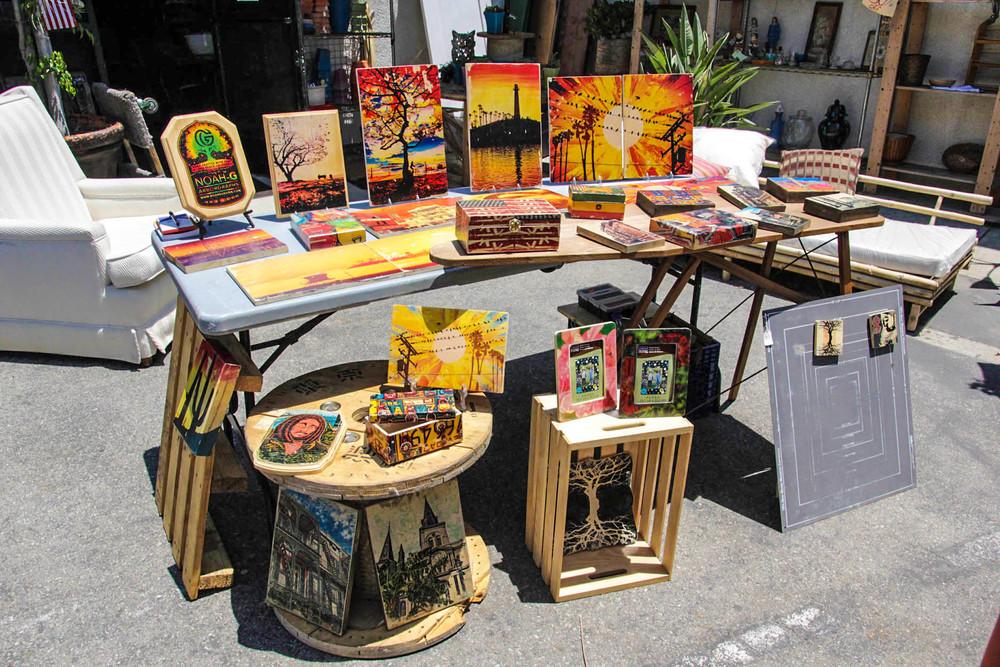 NOAH-G ARBORGRAPHS - Gallery 1333 Long Beach, Outdoor Art Fair