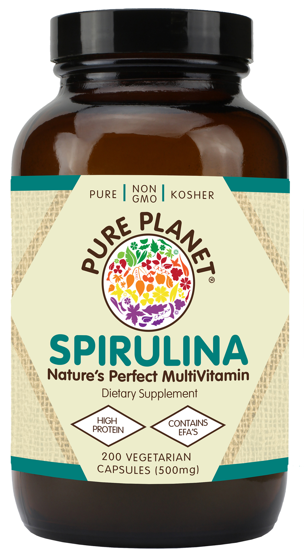 009140186341_Pure Planet_Spirulina _200 vcap_500mg.jpg