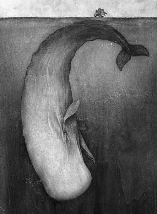 Lisel Jane Ashlock (http://www.liseljaneashlock.com/projects/#/moby-dick/)