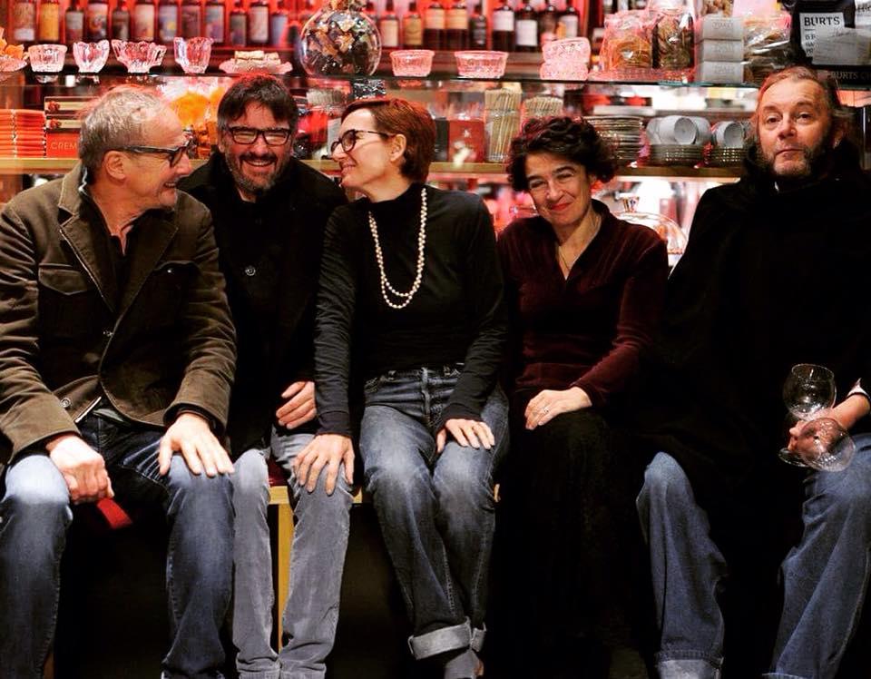 Walter Massa, Fabrizio Iuli, Marina Bersani e Pigi