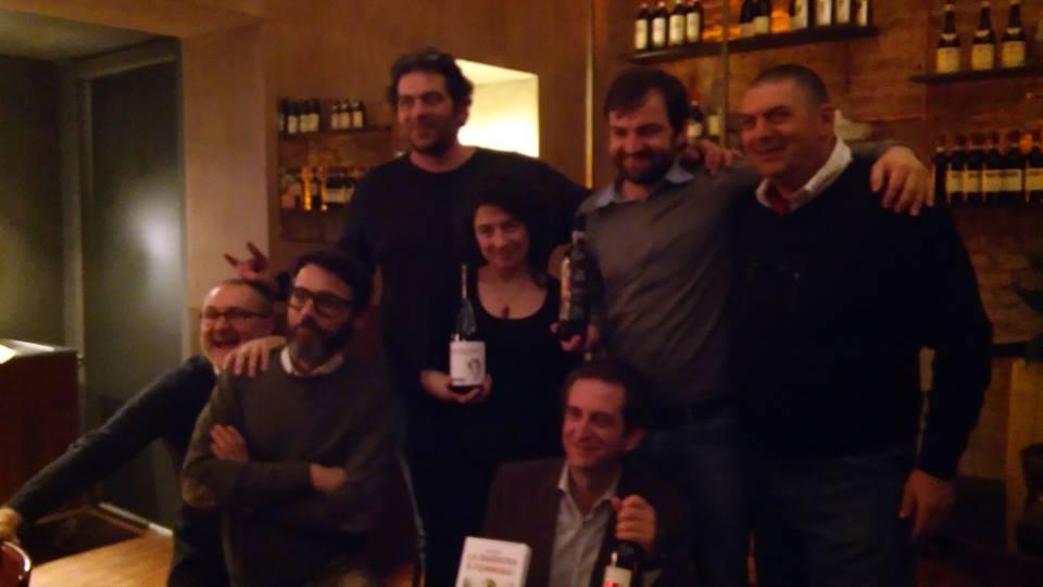 Stefano Robba, Lorenzo Perego, Ignazio Giovine, Claudio Dacasto e Domenico Pera.