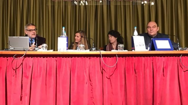 Con Gigi Padovani, Marzia Taruffo e Claudio Porchia.
