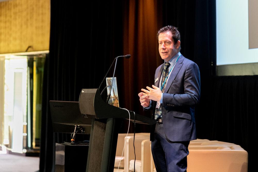 Dr Scott Watkins presents on entrepreneurship
