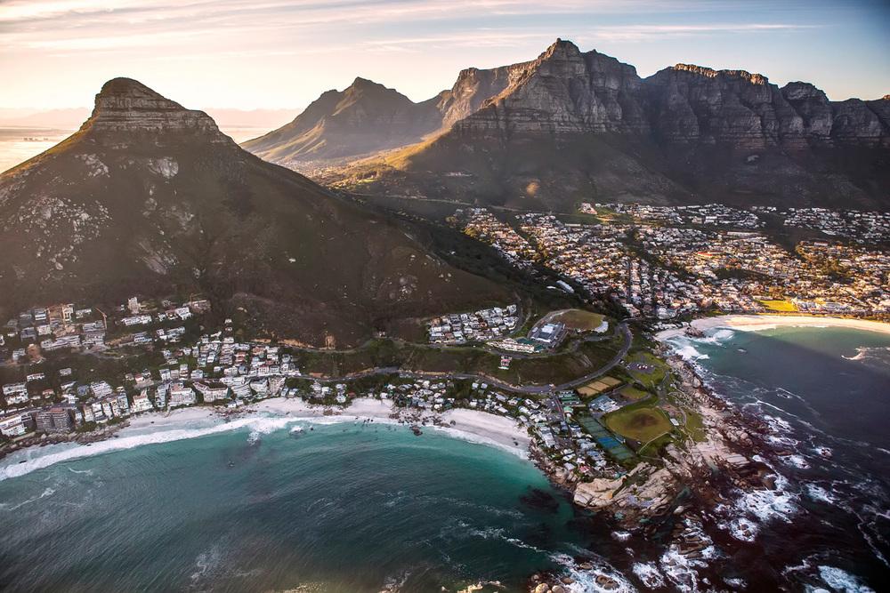 Teagan Cunniffe aerial photography Cape Town