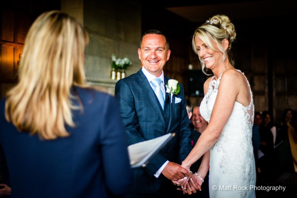 During the ceremony at Lympne Castle