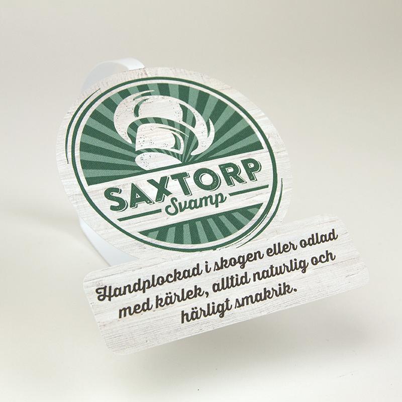 Nkel skapade ny identitet och kommunikation för Saxtorp Svamp.
