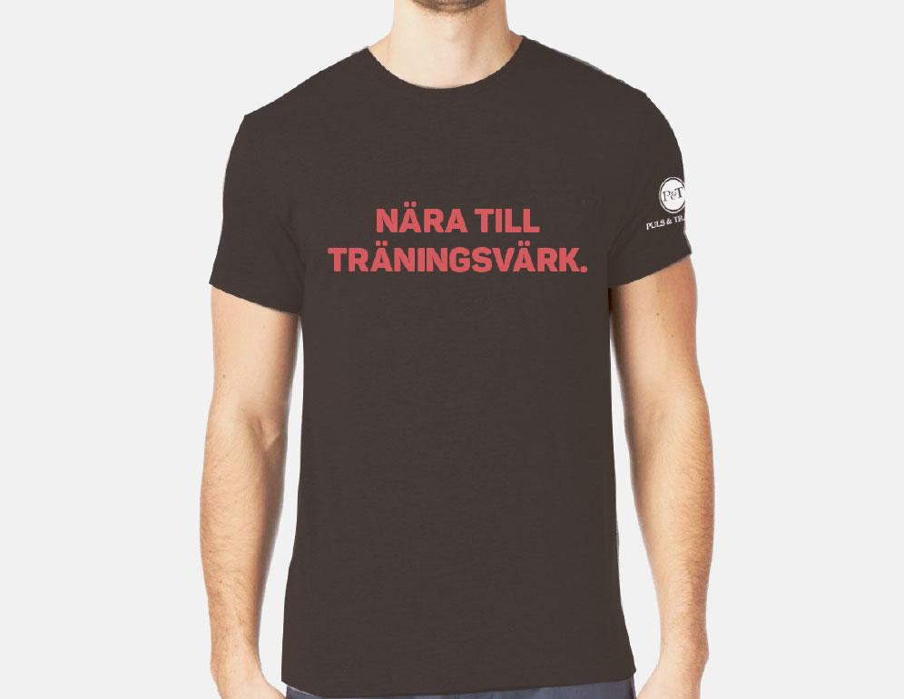 Puls & Träning t-shirt.