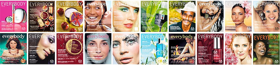 The Body Shops kundtidning