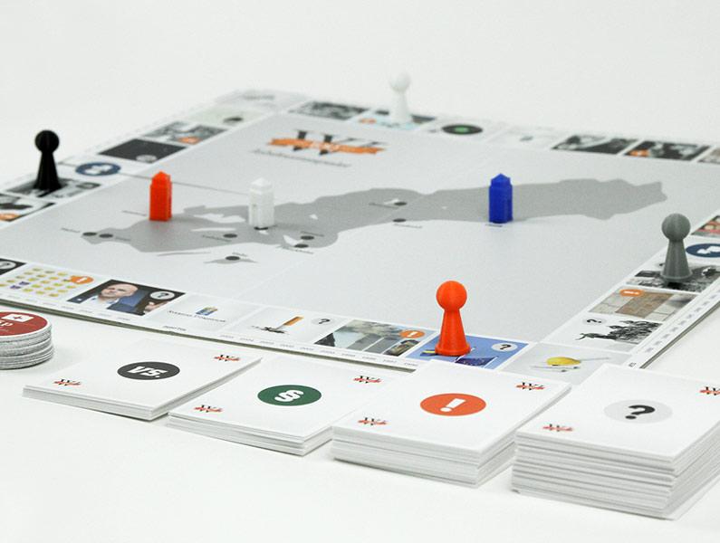 När Wistrand fyllde 100 år utvecklade vi tillsammans med dem ett unikt jubileumsspel