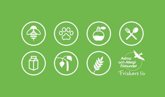 Vi har gett Astma- och Allergiförbundet fler grafiska element, ett starkare bildspråk och ett starkt annonskoncept att jobba med