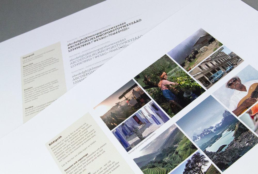 Nkel reklambyrå Stockholm: Läs & Res – Grafisk identitet, bildmanér