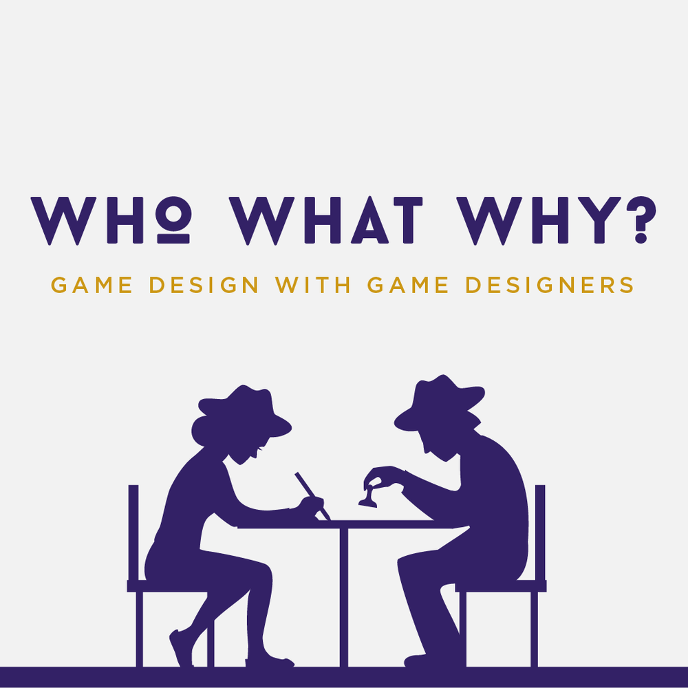 Who, What, Why? Podcast Logo