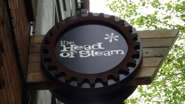 The Head of Steam is located on 7 High Pavement, Nottingham NG1 1HF. Website : - http://www.theheadofsteam.co.uk