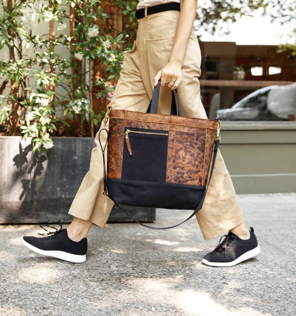 The Mylo bag made from Mushroom Leather (Mylo)