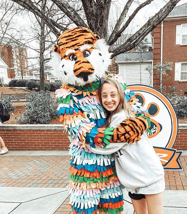 Happy 40th Birthday to our best friend!! We love you Aubie!!!!! #aubieturns40 #wareagle