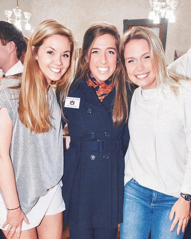 Three wonderful women to celebrate today!! First, your newest War Eagle Girl Cat Bryant. Second, Laura Davenport, your new Miss Auburn. & Third, Ann Hollon Morris for her wonderful year as a War Eagle Girl!! We are so proud of you three for leading Auburn with such grace and representing Alpha Delta Pi.