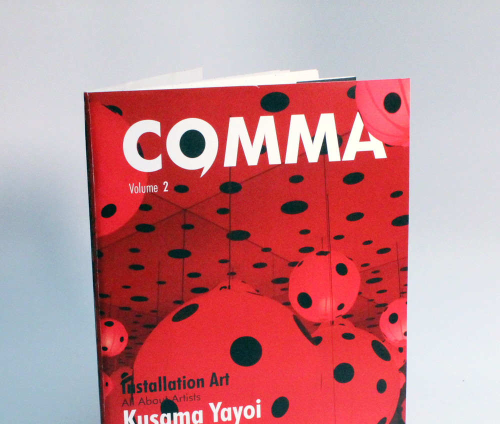 COMMA MAGAZINE Editorial Design