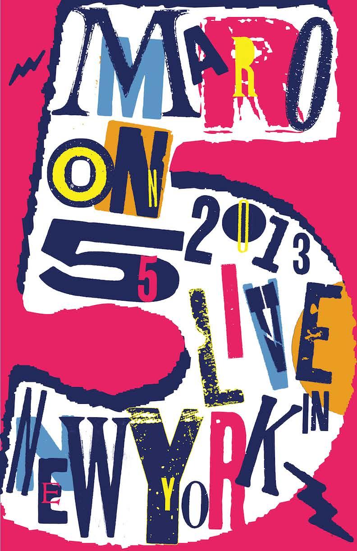 Music poster for Maroon5-2.jpg