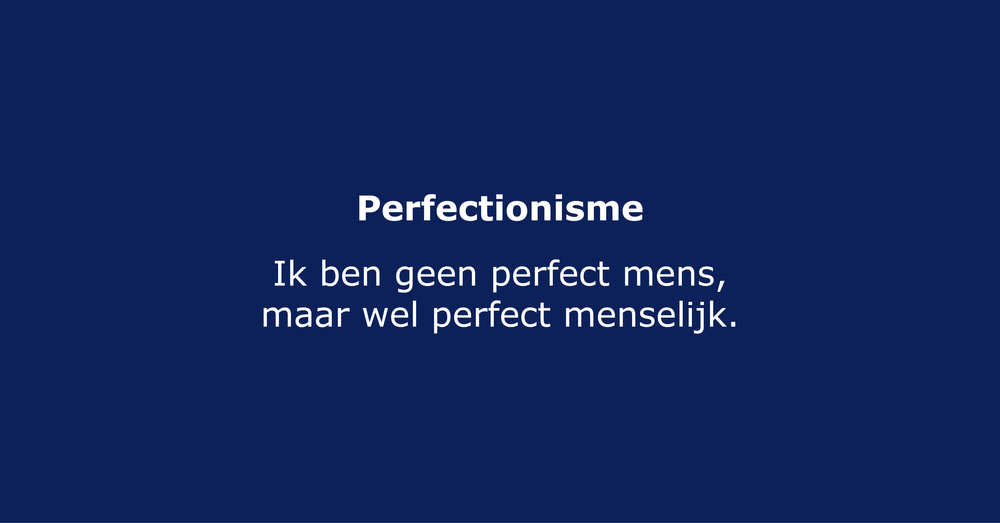Perfectionisme artikel Instatera.org