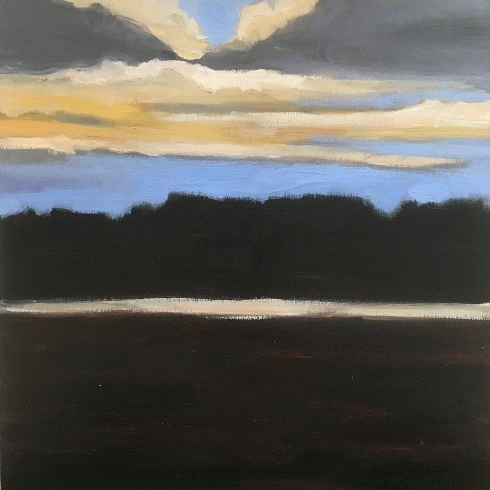 Popham Beach dusk