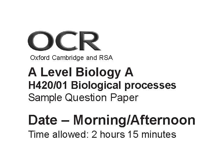 a2 level biology essay Just a few tips on how to tackle the essay best: before the exam: in addition to recapping units 1, 2 and 4 (you may wish to do some past papers), try and pick up at least one extra fact not in the course related to each unit 5 topic - you'll need it to maximise your chances in the essay.