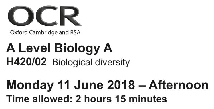 Answer Biology Questions Better — Online A level Biology