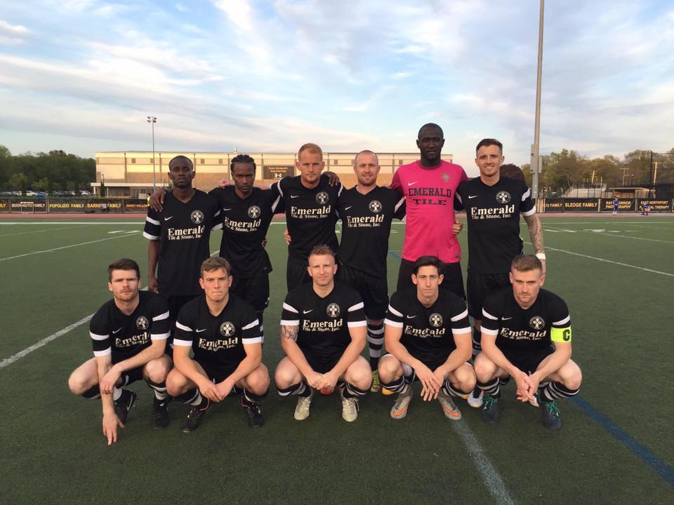 Lansdowne Bhoys before their second round U.S. Open Cup win against the Pittsburg Riverhounds.
