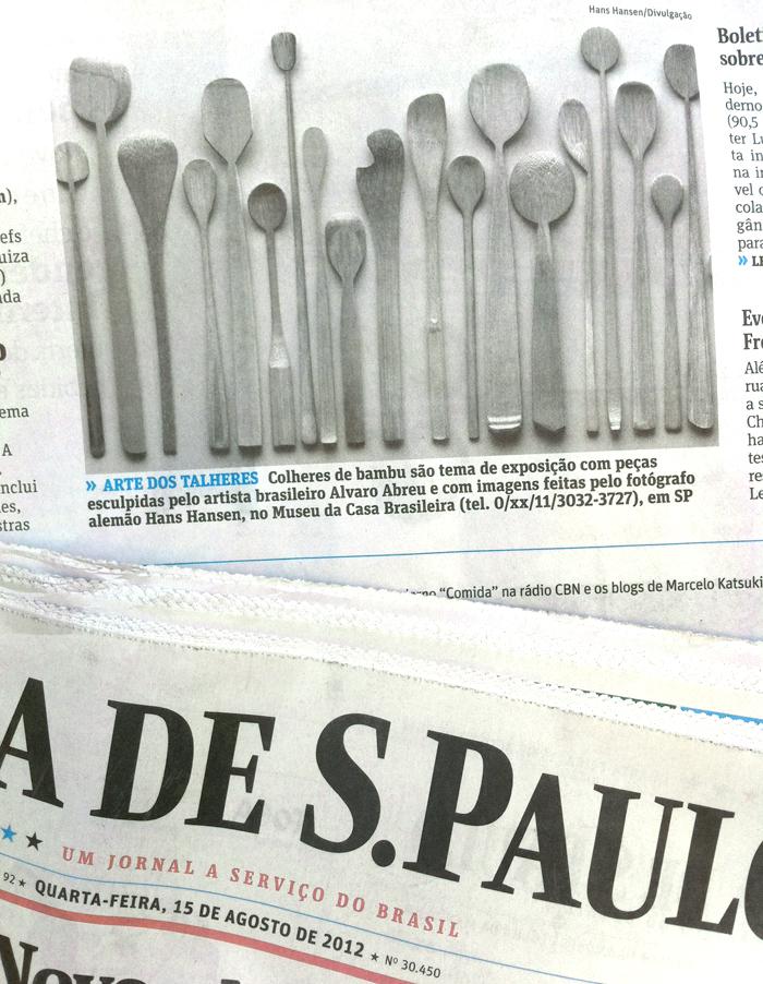 Jornal Folha de São Paulo - 15 de agosto de 2012