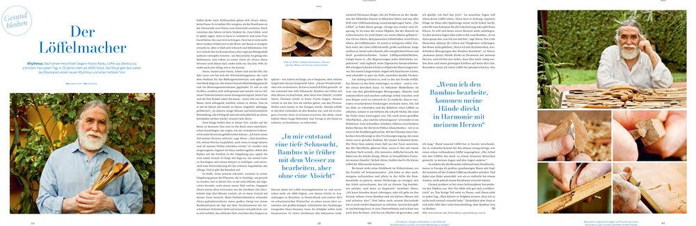 Revista Werde (Weleda) - 2015