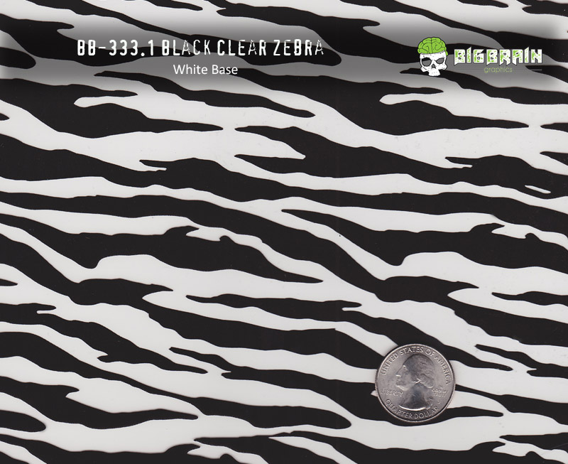 Zebra Stripe clear