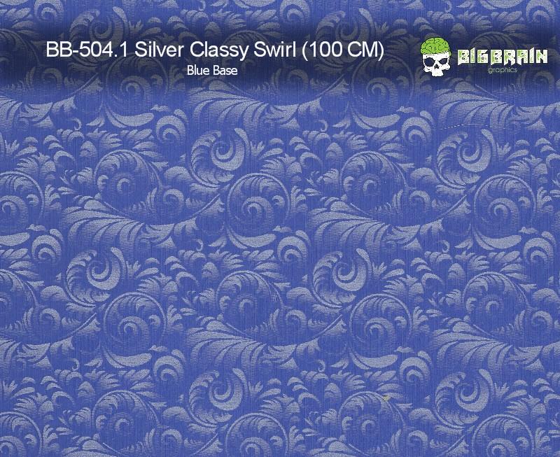 Silver Classy Swirl