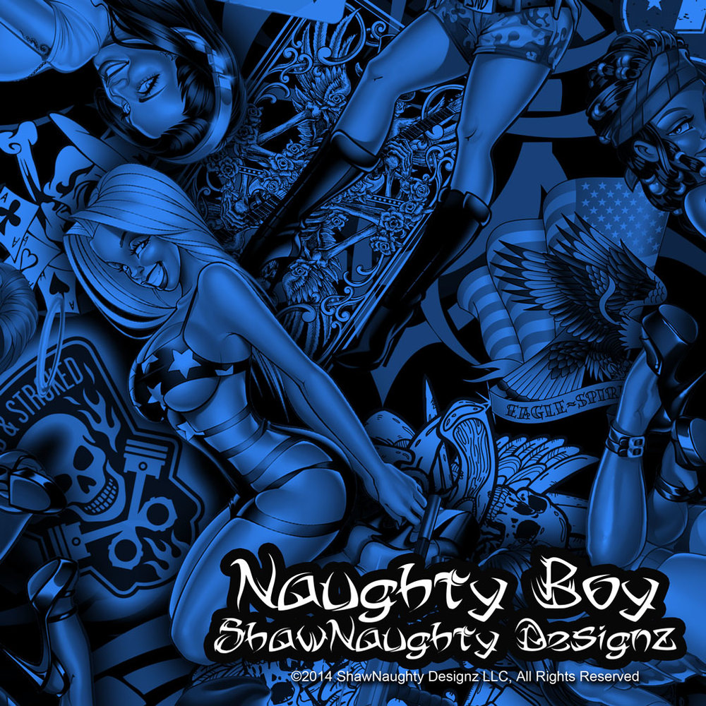 Naughty Boy Blue