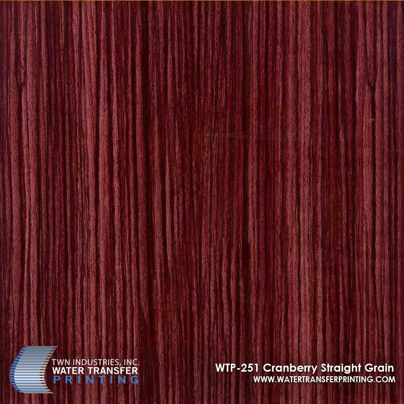 Cranberry straight Grain